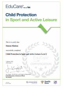 Fortitude Martial Arts Child Protection in Sport